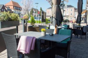 Hotel in Baesweiler Terasse