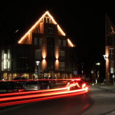 Hotel in Baesweiler Aussen Nacht