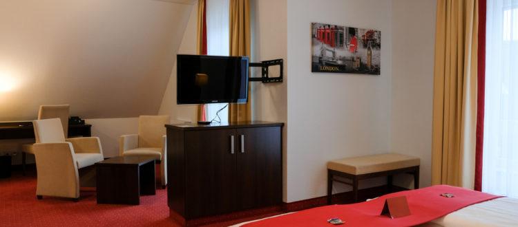 Hotel in Baesweiler Zimmer Doppelzimmer Superior mit Balkon